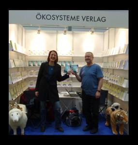 Klaus Mücke auf der Leipziger Buchmesse 2013 mit der Autorin